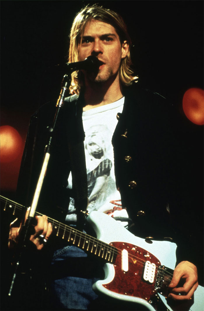 Kurt Cobain And His Hair