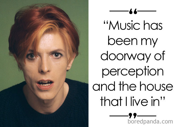 Singer And Songwriter David Bowie (1947-2016)