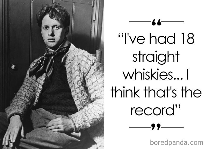 Poet And Author Dylan Thomas (1914-1953)