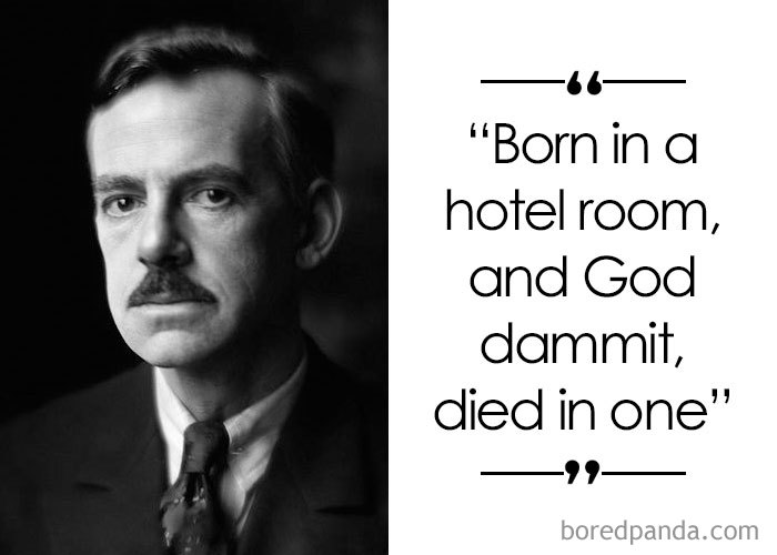 American Playwright Eugene O'Neill (1888-1953)