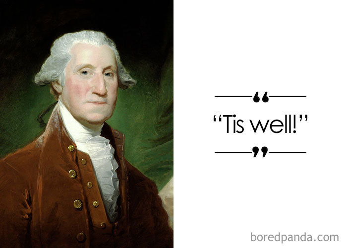 American Political Leader, The First President Of The USA George Washington (1732-1799)