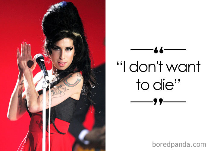 Singer And Songwriter Amy Winehouse (1983-2011)