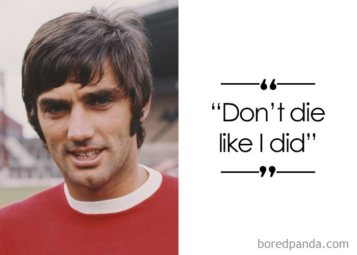 Irish Footballer George Best (1946-2005)