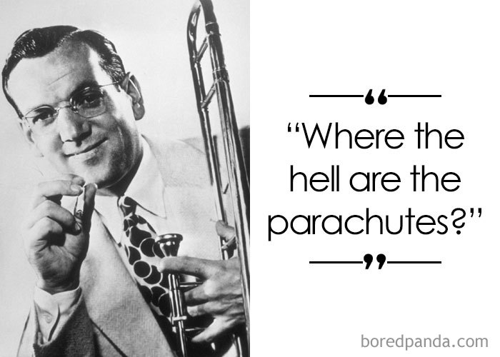 American Trombonist And Band-Leader Glenn Miller (1904-1944)