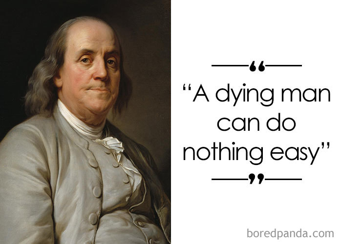 American Polymath And One Of The Founding Fathers Of The United States Benjamin Franklin (1706-1790)