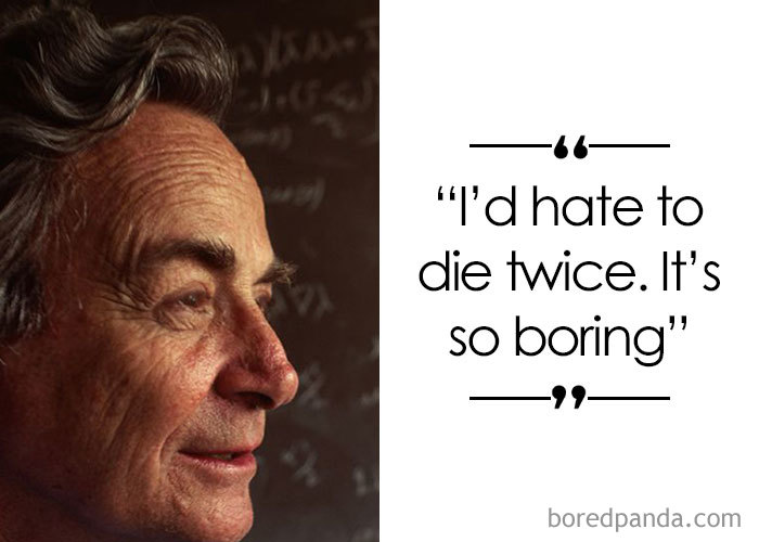 Theoretical Physicist Richard Feynman (1918-1988)
