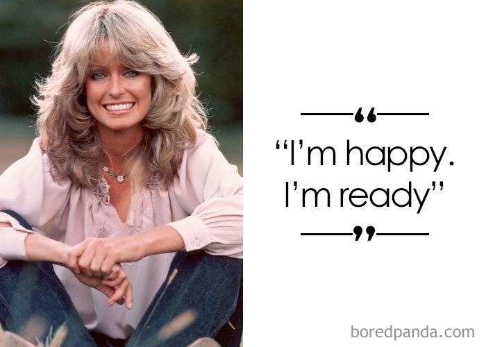 American Actress, Model And Artist Farrah Fawcett (1947-2009)