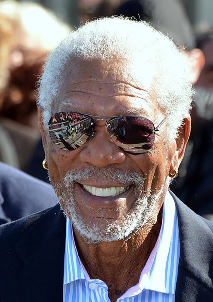 Morgan Freeman, 50