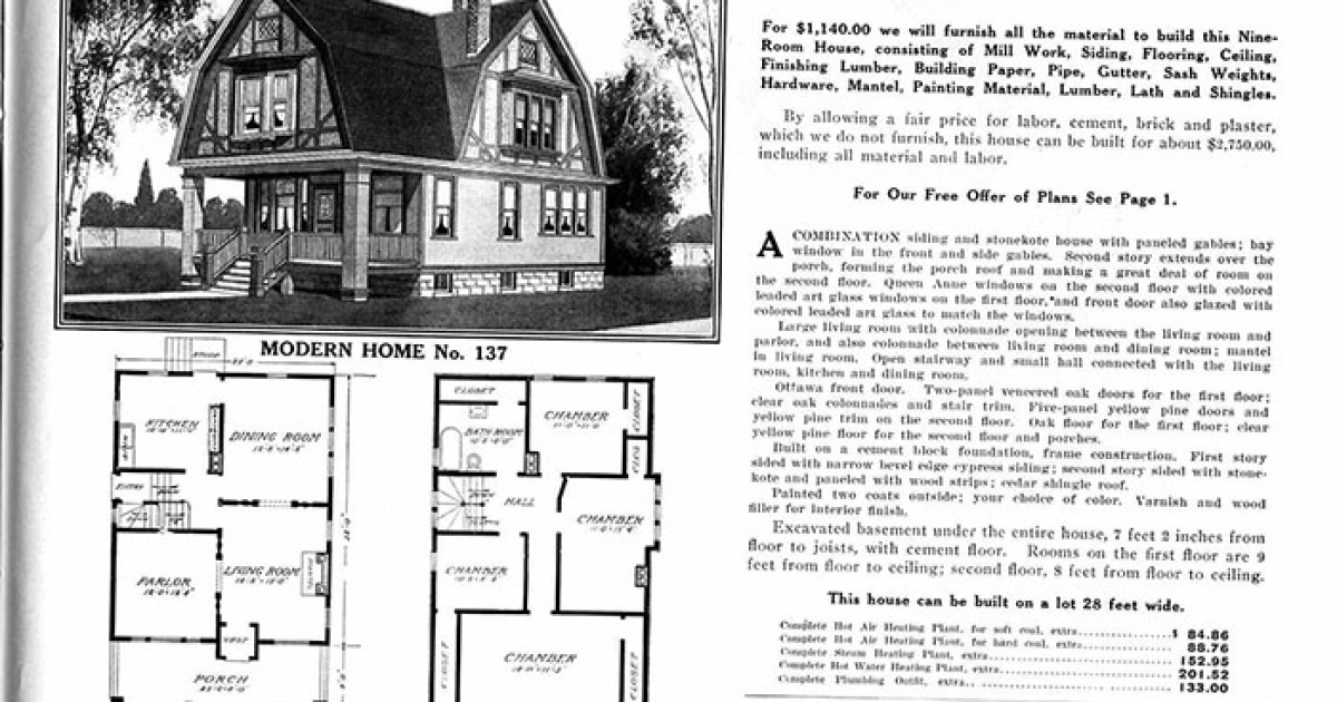 Sears Catalog 'Kit Homes' From The Early 20th Century Are The Epitome Of The American Dream