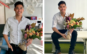 This Guy's Tweet About Mistakenly Receiving Flowers On His First Day At A New Job Is Going Viral