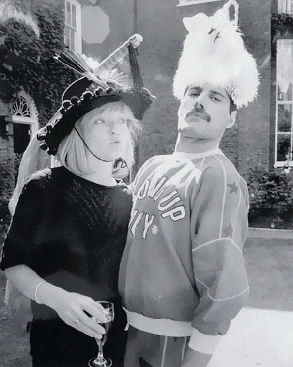 25 Fotos de Freddie Mercury con su primer amor verdadero, Mary Austin