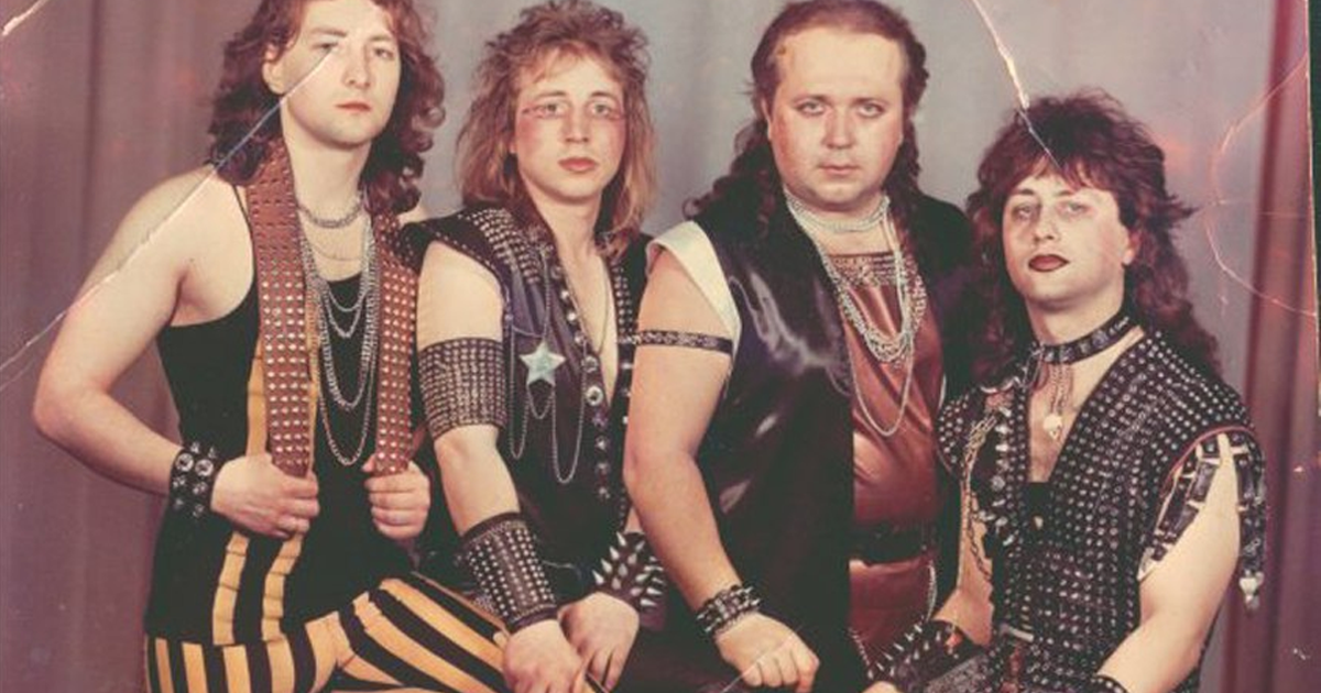 37 Awkward Metal Band Photos That Are So Bad They're Good