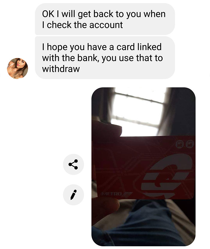Guy Pranks An Online Scammer By Making Up A Ridiculous Fake