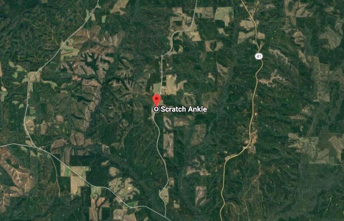 Scratch Ankle, Alabama