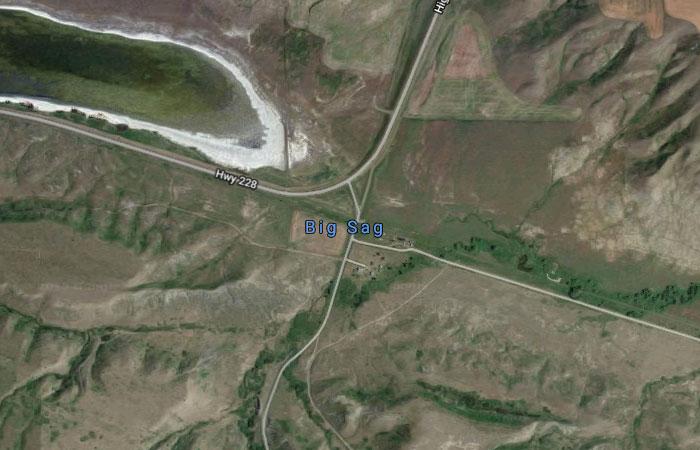 Big Sag, Montana