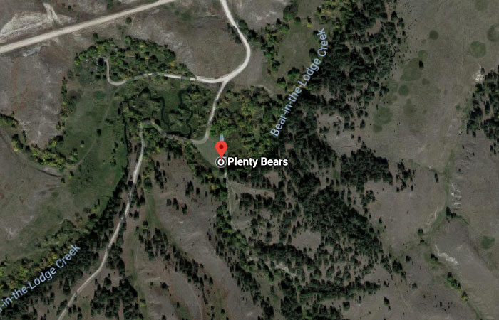 Plenty Bears, South Dakota