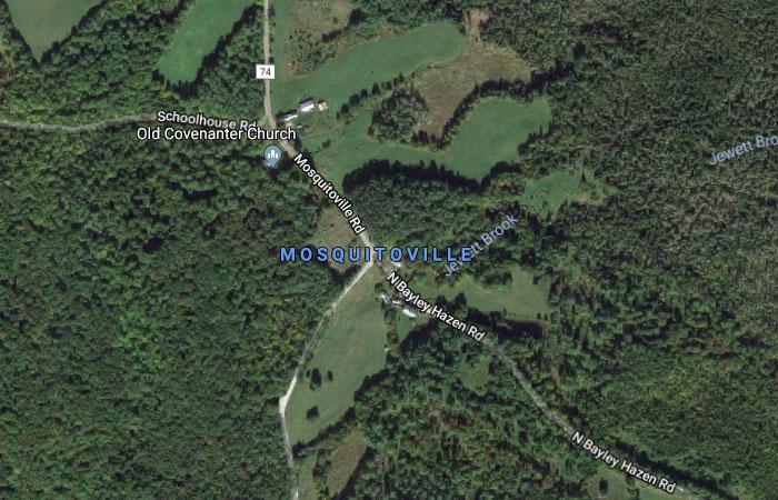 Mosquitoville, Vermont