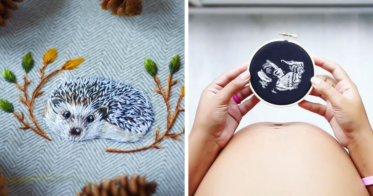 I Started Embroidery A Year And A Half Ago And Fell In Love With It. Here Are My 41 Best Designs