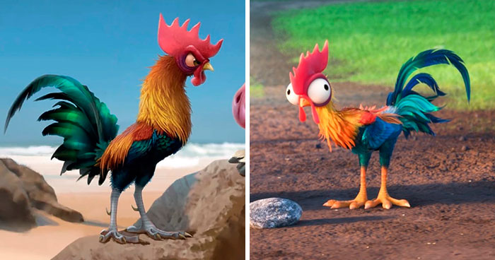 Someone Asked Why Disney Dumbed Down Moana's Rooster And One Tumblr User Gave The Perfect Answer