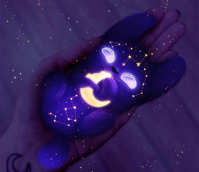 I Create Cute Glowing Monsters From Outer Space (28 Pics)