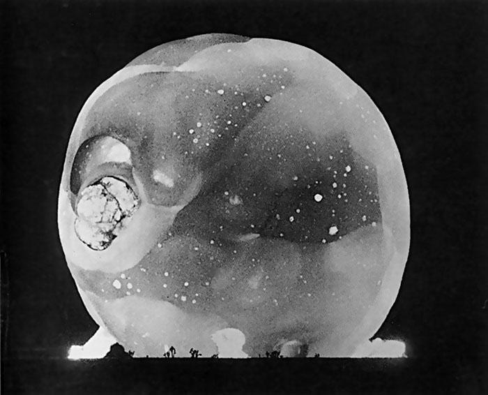 Atomic Bomb Detonation