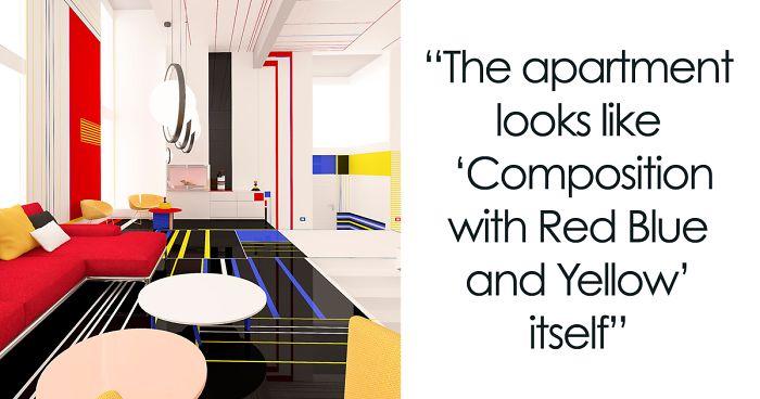 Bulgarian Designers Unveil The U0027Aesthetic Apartmentu0027 That Looks Like A Piet  Mondrian Painting. Interior Design