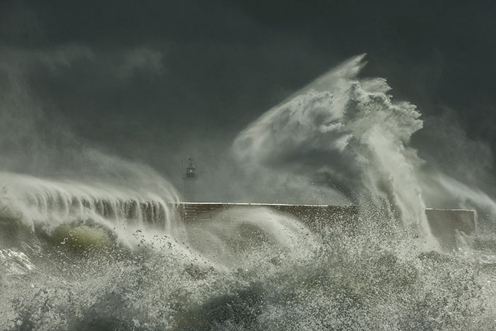 Newhaven Harbour, East Sussex, England, Edward Hyde