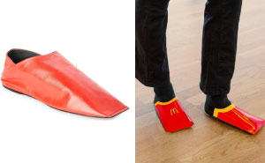 McDonald's Sweden Promises To Release A Budget Version Of These $545 Balenciaga Shoes If They Get 103042 Likes On Their Hilarious Instagram Post