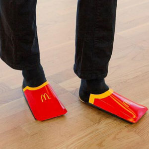 Balenciaga Releases $545 Shoes That Look Like French Fry Packets, So McDonald's Sweden Roasts Them On Instagram