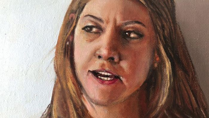 Oilpainting Timelapse-Portrait Of An Artist By Onur Can Özdemir