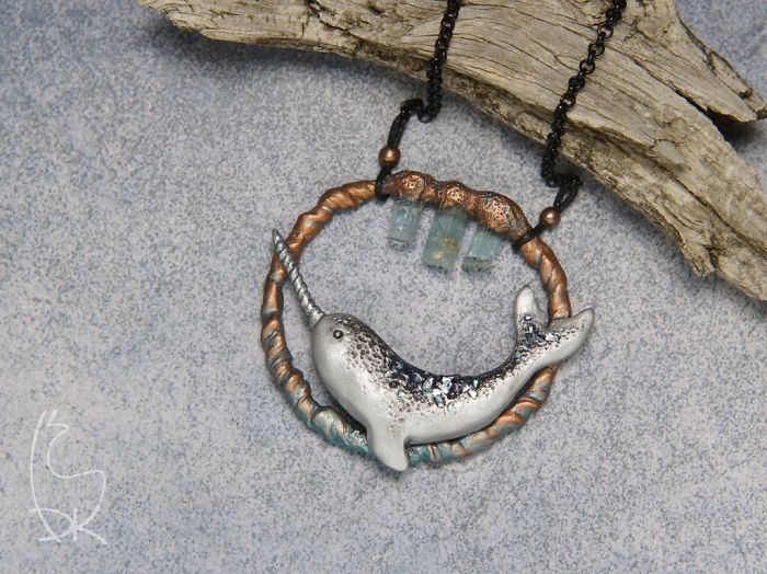 I Create Jewelry Pieces Inspired By Nature And Fantasy