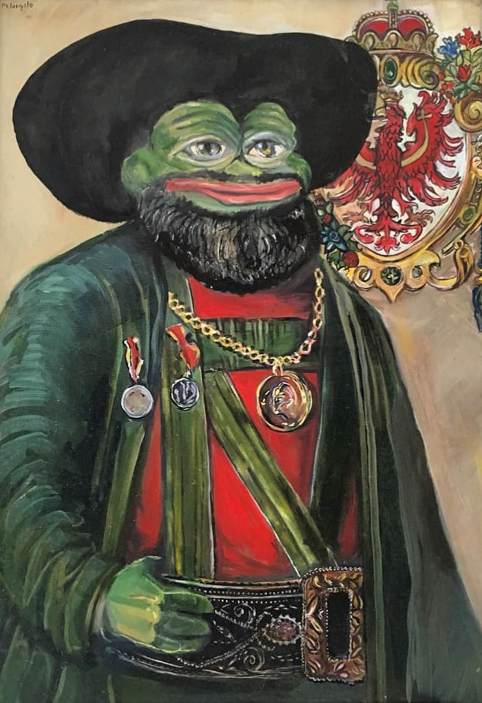 """Pepe Says """"Hi"""" From His New Austrian Home"""