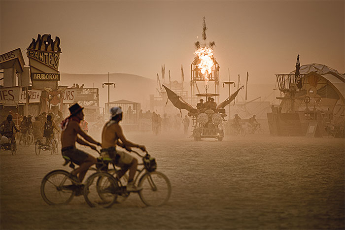 The Photos I Took At Burning Man Festivals On Three Different Continents Show How Different They Are
