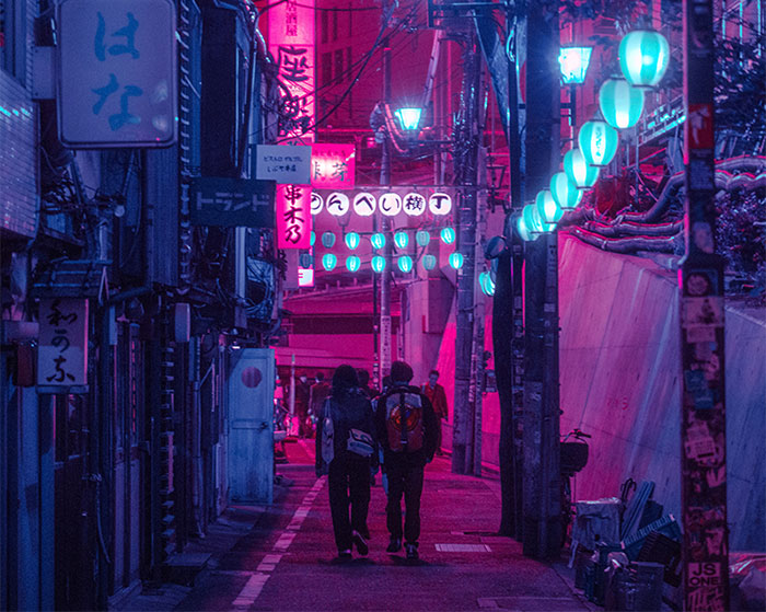 My 27 Surreal Photos Of Tokyo At Night