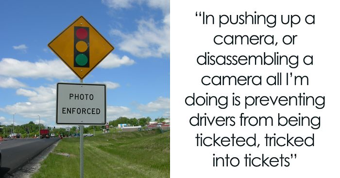 This Man Figured Out The Red Light Camera Scam And Decide To