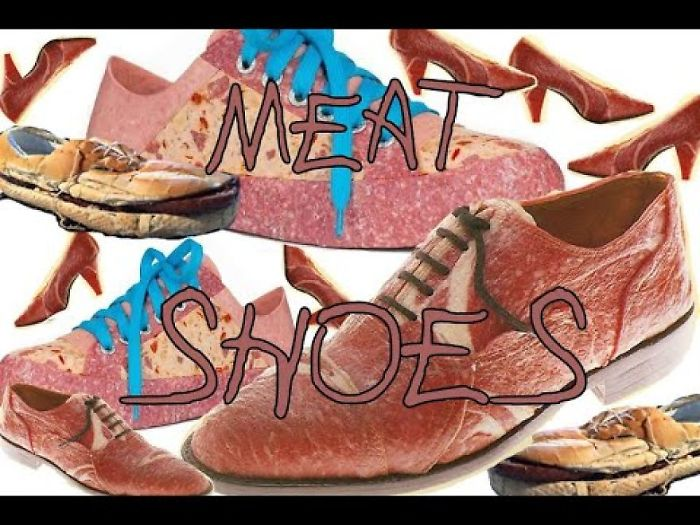 We Made A Video About A Sad Man Making Meat Shoes