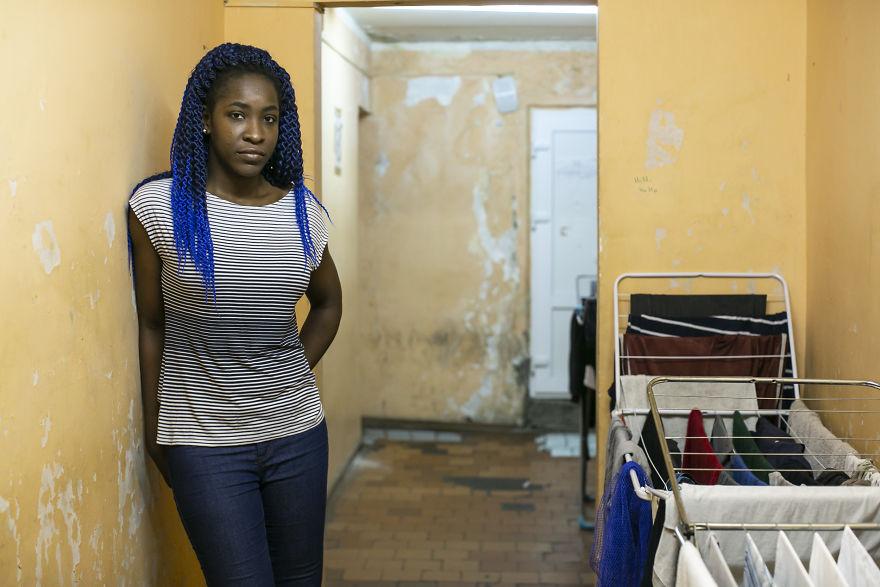 Christelle Guezodje From Abomey, Benin. Medicine Major