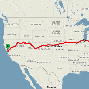 Traveler Shares A Train Route That Shows America's Most Beautiful Sights For $186
