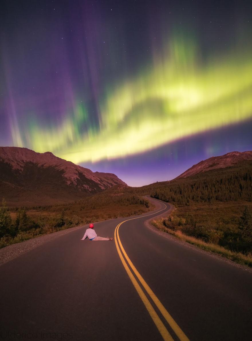A Lifetime Goal, Achieved. Aurora In Denali National Park