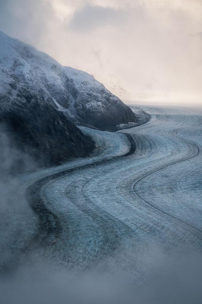 Glacier In The Coast Range, Bc