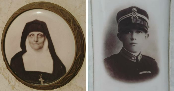 40 Photos Of Fascinating Photographs I Found On Old Tombstones In Italian Cemeteries