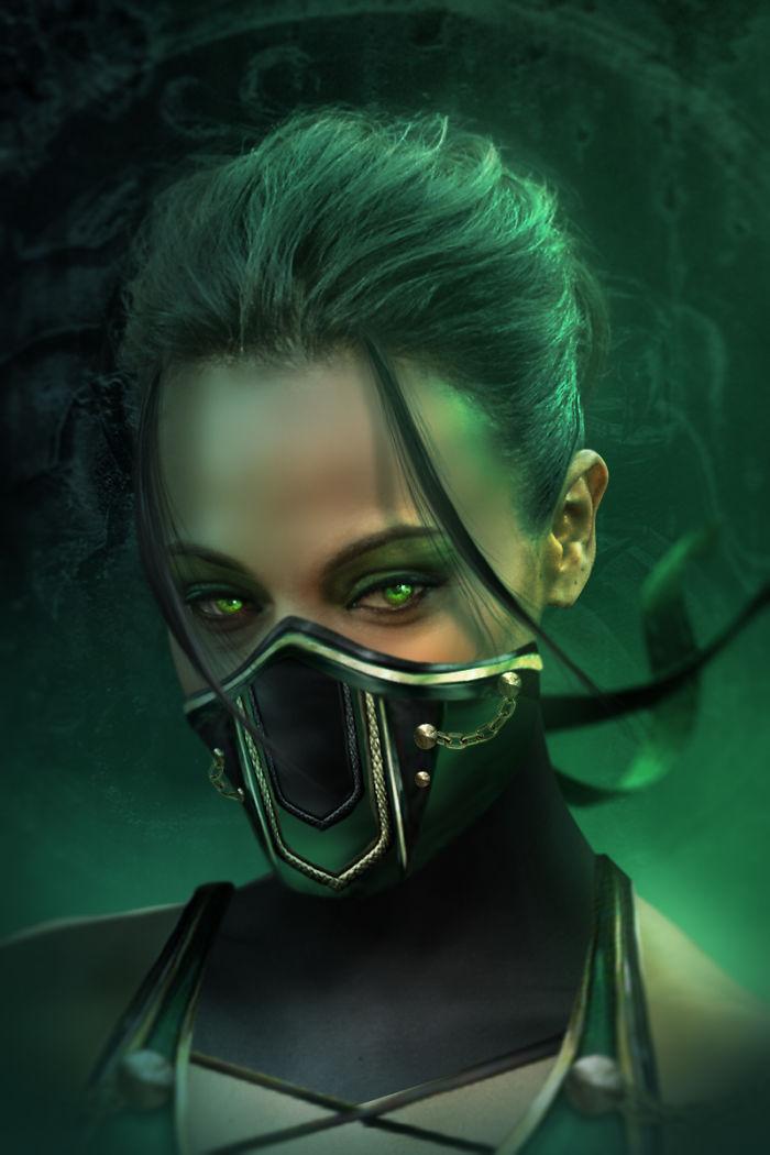 Zoe Saldana - Jade