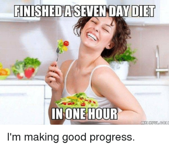 118 Weight Loss And Diet Memes That Will Burn Calories With