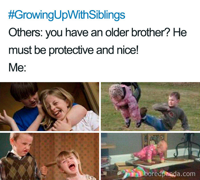 30 Of The Best Sibling Memes Ever Bored Panda