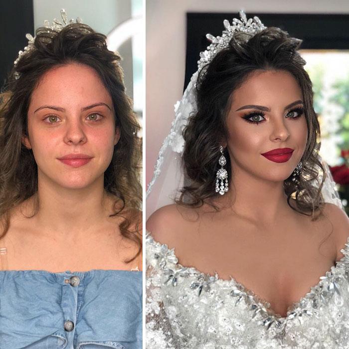 19 zaskakujących metamorfoz przygotowanych na wesele. Aż trudno rozpoznać panny młode