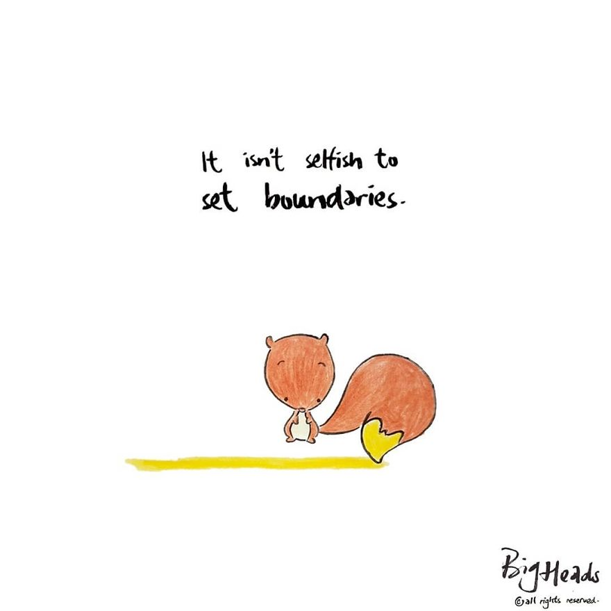 It Isn't Selfish To Set Boundaries