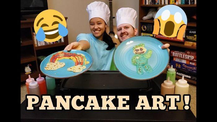 We Tried The Pancake Art Challenge!