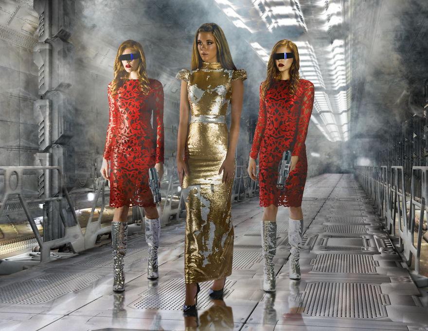 Models In Space: Paris, We Have A Problem