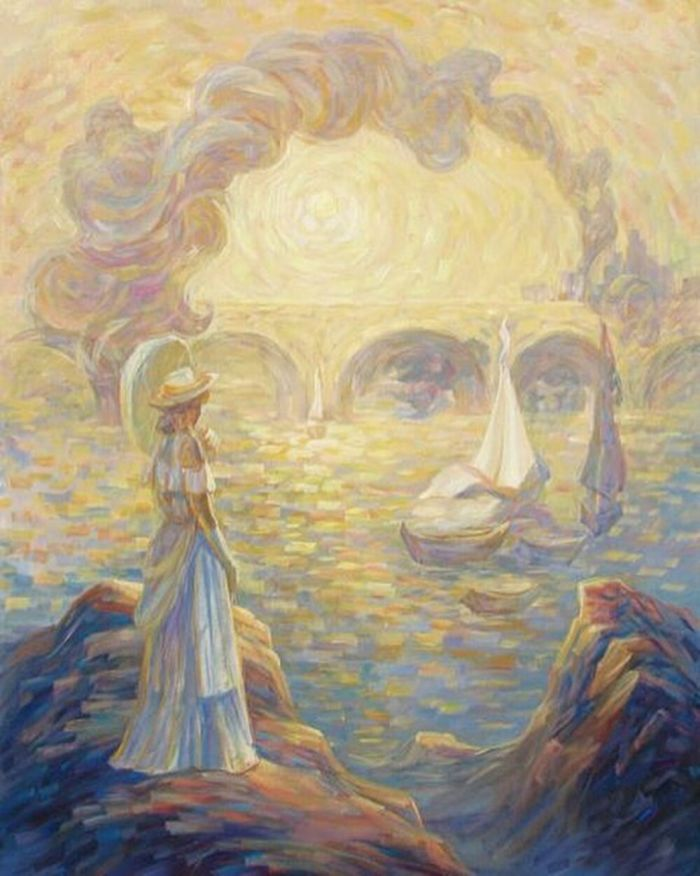Impression Of Claude Monet