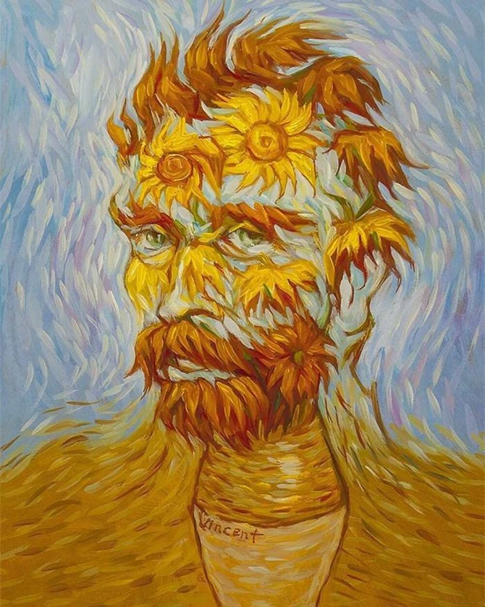 "Vincent Van Gogh ""Sunflowers"""